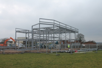 Community centre build- Alex Hammonds