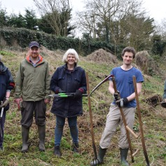 Wild Oxford Project volunteers