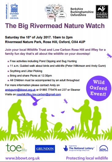 rivermead nature watch